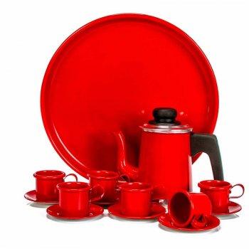 Jogo Coffe de Alumínio Color c/ 8 pçs
