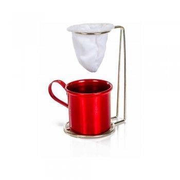 Suporte para Mini Coador de Café c/ Caneca 160 ML