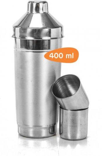 Coqueteleira c/ 2 copos 400 ml